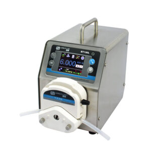 BT100L + YZ15 White BT100L Intelligent Flow Rate Peristaltic-Pump