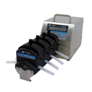 WT300S-YT25x4 WT300S Variable-Speed 3500mL/min 4Pump-Head_Peristaltic-Pump